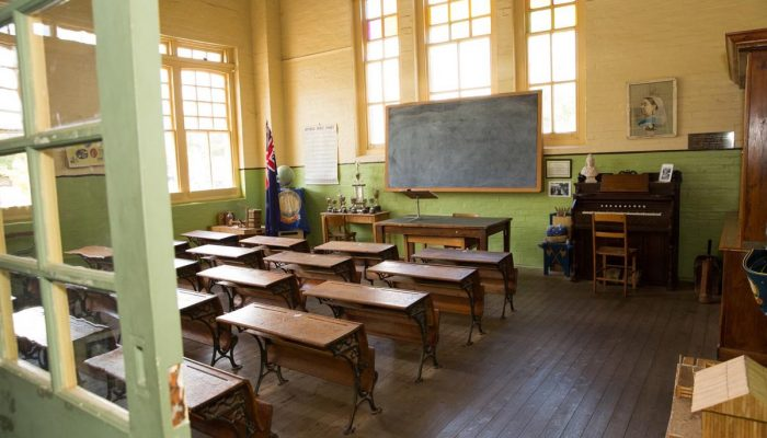 Old Schoolroom at Peppin Heritage Centre